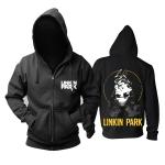 Merch Hoodie Linkin Park Living Things Logo Pullover