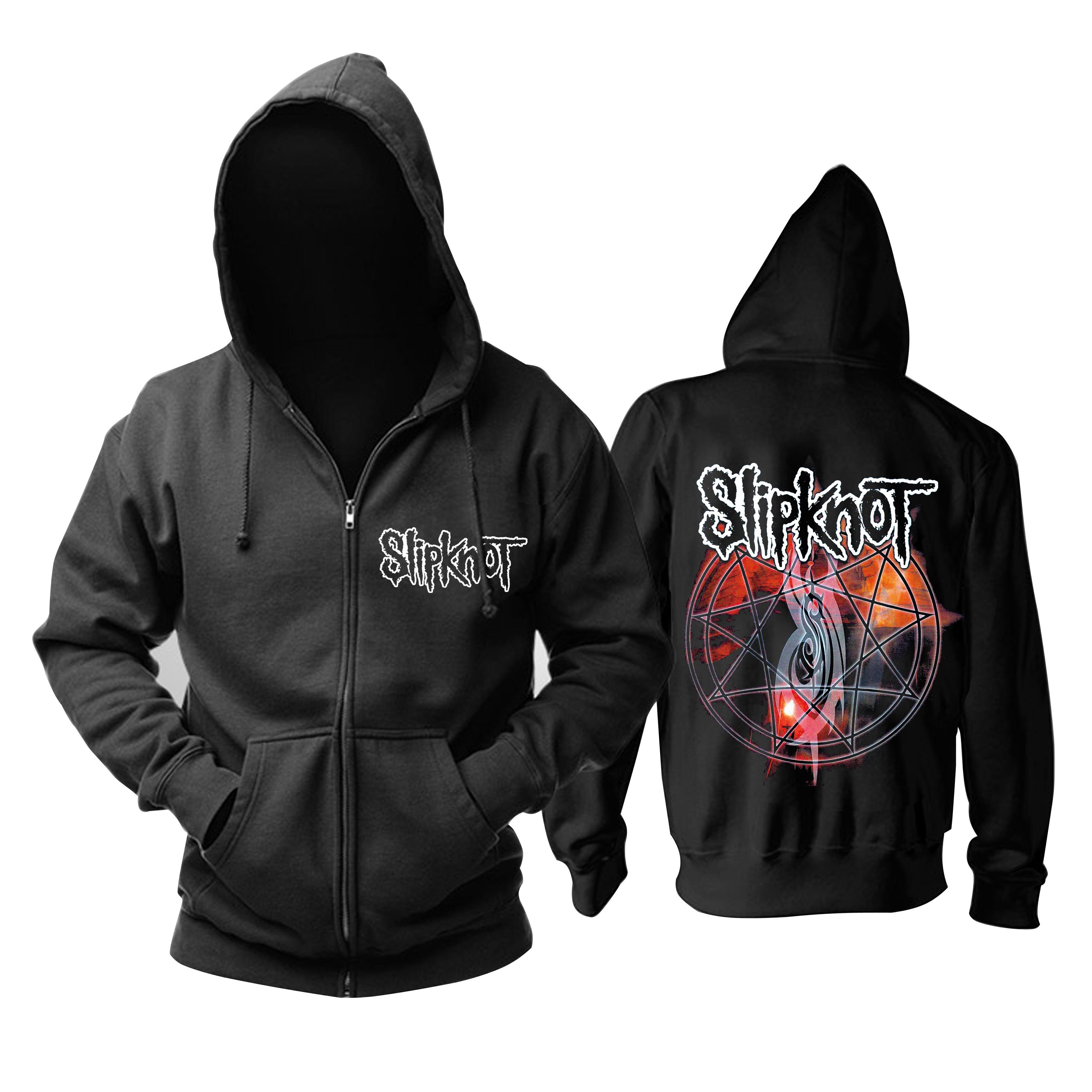 Merchandise Hoodie Slipknot Symbol Band S Pullover