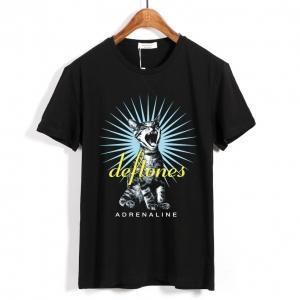 Merchandise T-Shirt Deftones Adrenaline Black