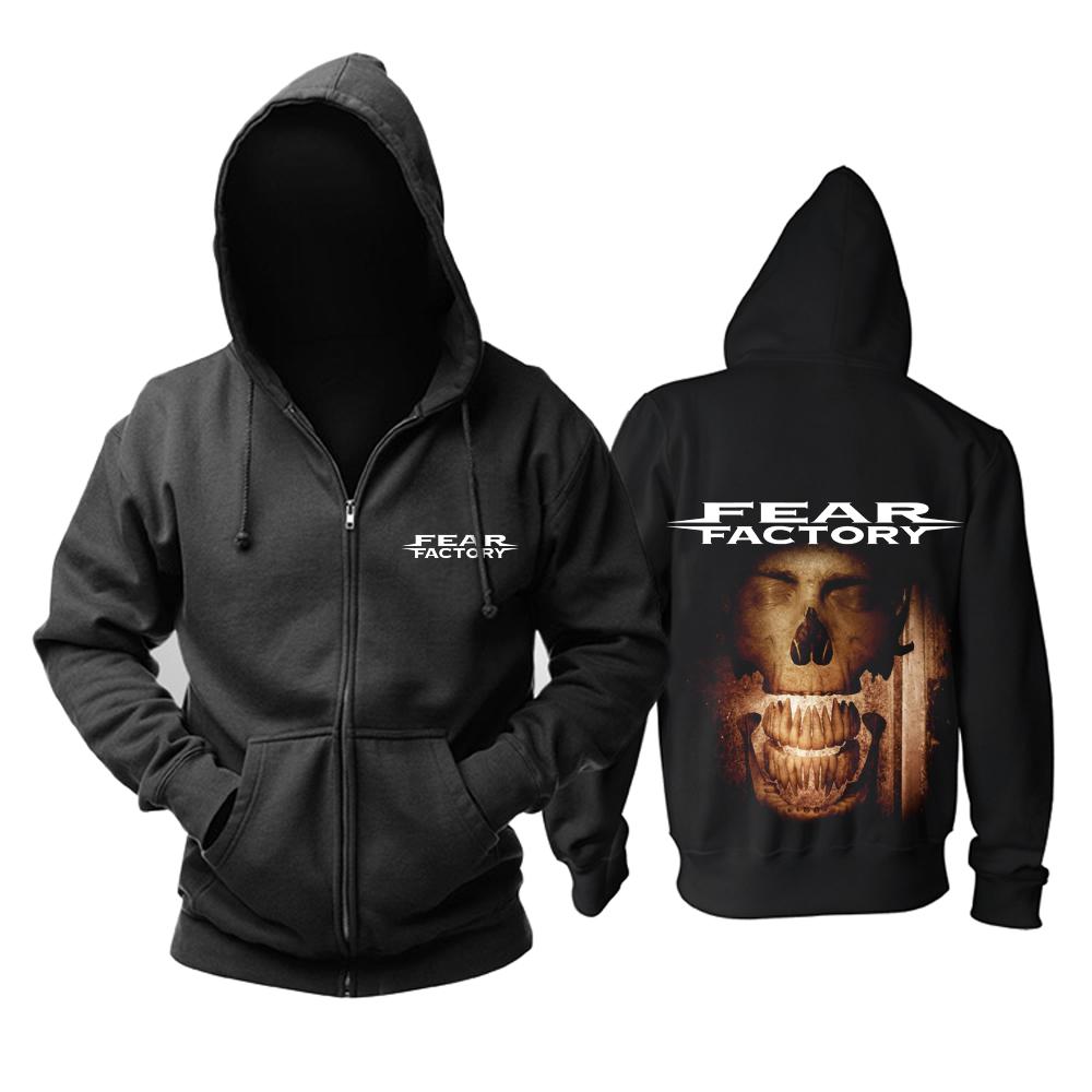Merchandise Hoodie Fear Factory Smasher Devourer Pullover