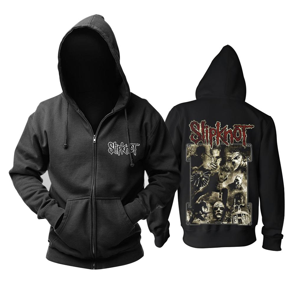 Merchandise Hoodie Slipknot Heavy Metal Band Pullover