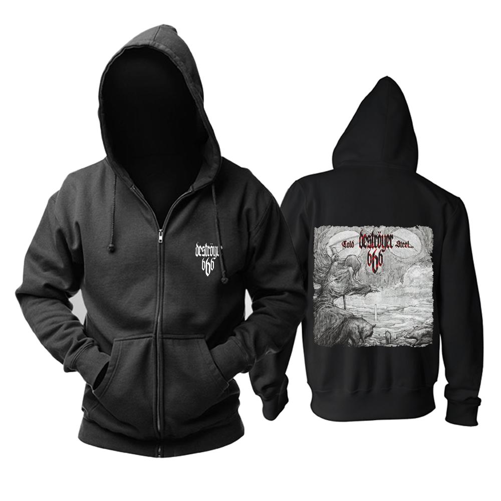 Merchandise Hoodie Destroyer 666 Cold Steel Pullover