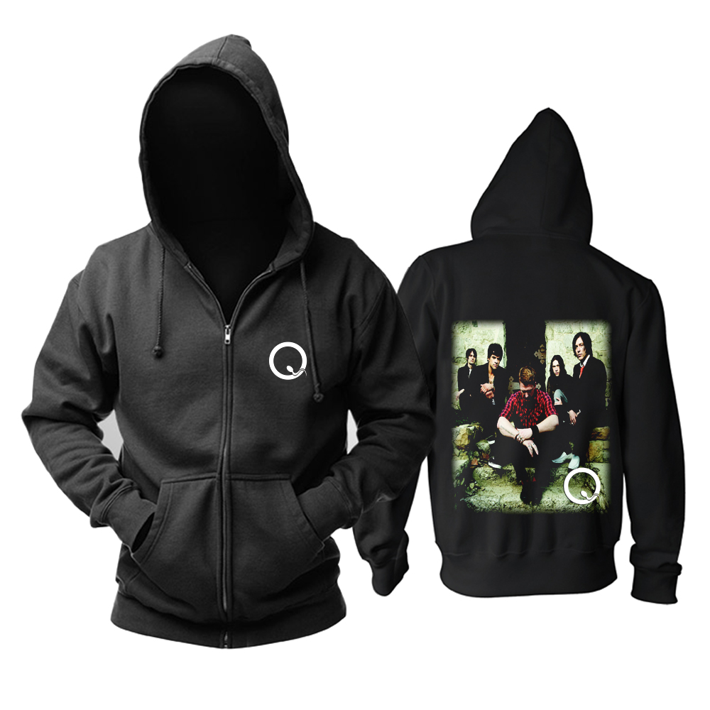 Collectibles Hoodie Queens Of The Stone Age Rock Band Pullover