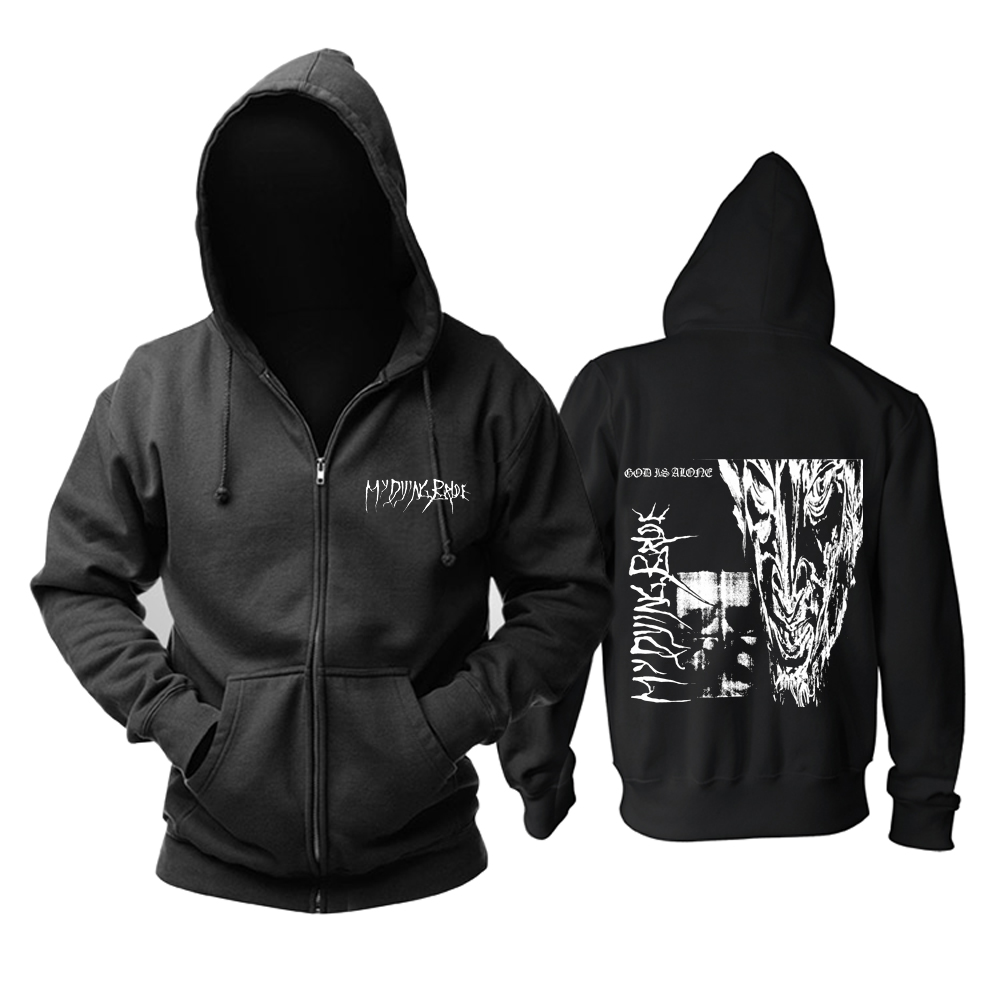 Merch Hoodie My Dying Bride God Is Alone Pullover