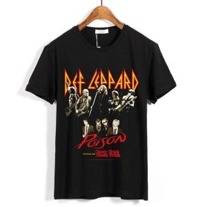 Merch T-Shirt Def Leppard Cheap Trick Poison