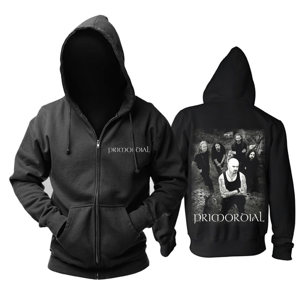 Merchandise Hoodie Primordial Rock Band Pullover