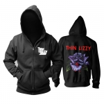 Collectibles Hoodie Thin Lizzy Black Rose Pullover