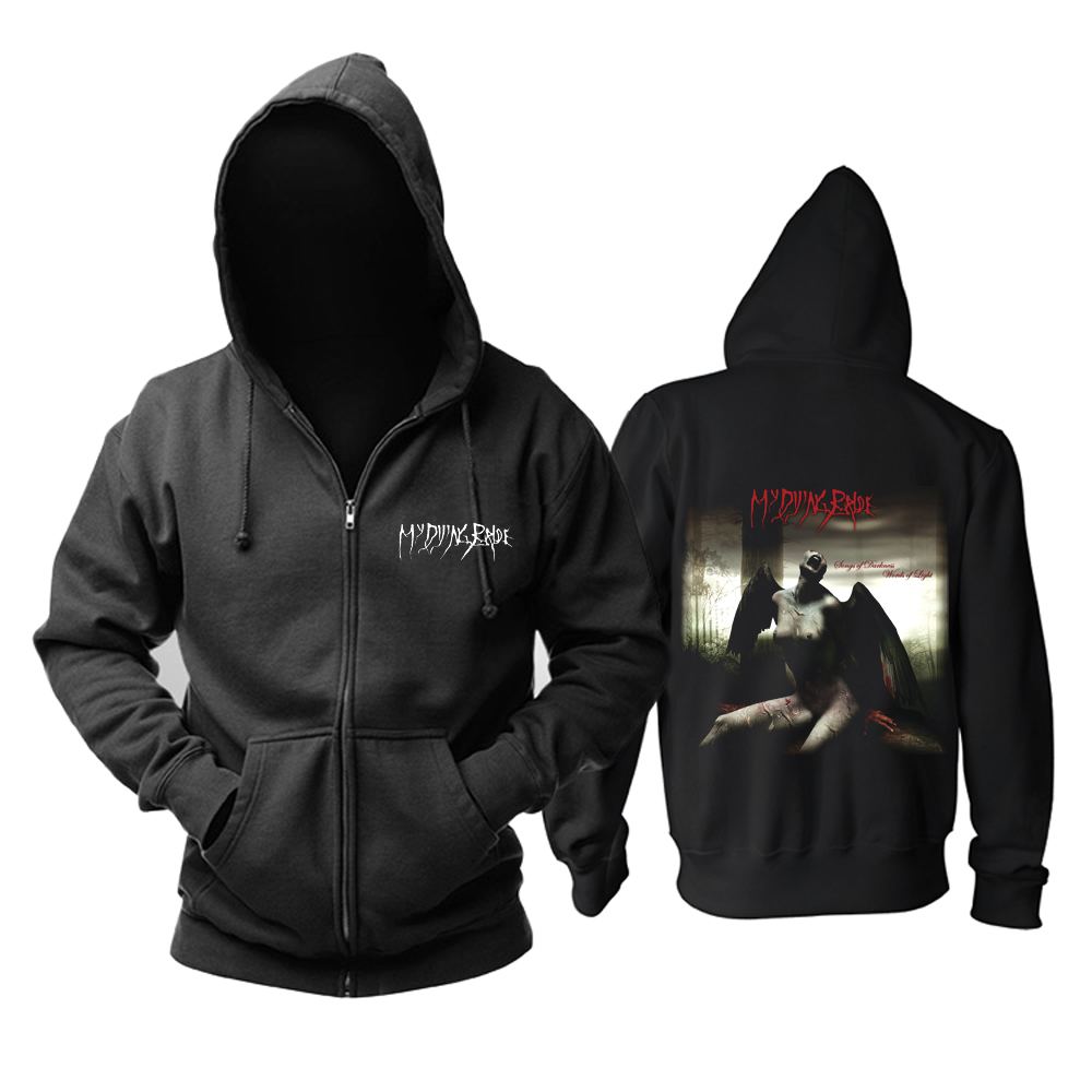 Merch My Dying Bride Hoodie Songs Of Darkness Words Of Light Pullover