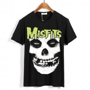 Merch T-Shirt Misfits Band Logo Black