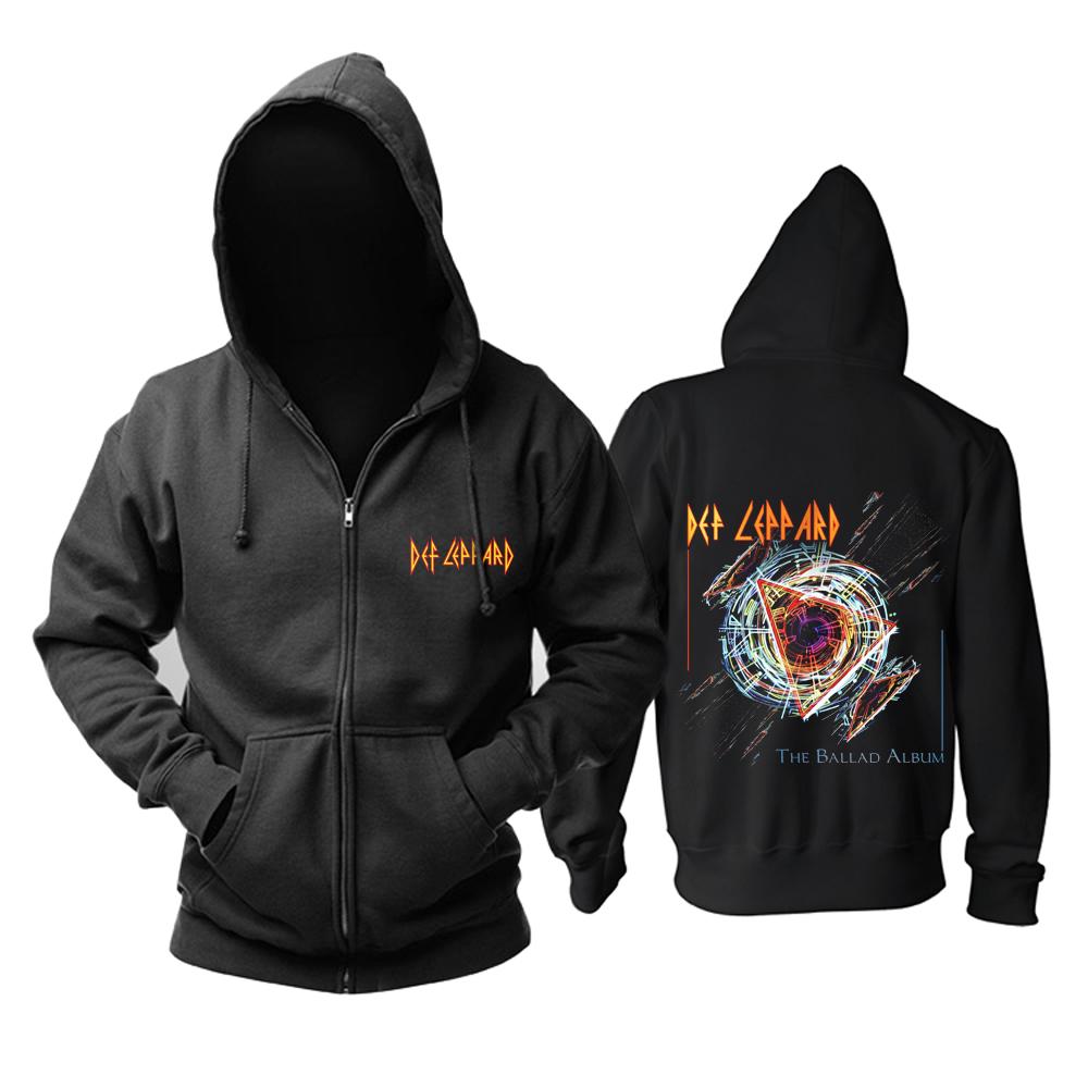 Merchandise Hoodie Def Leppard The Ballad Album Pullover