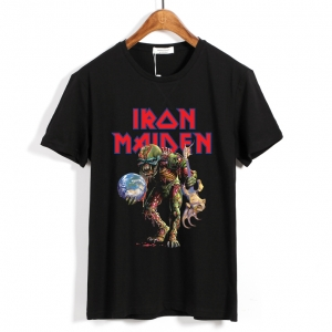 Collectibles Iron Maiden T-Shirt Heavy-Metal Black