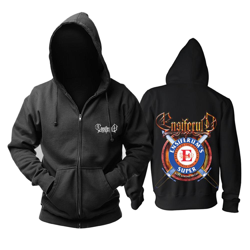 Merch Hoodie Ensiferum Very Strong Metal Pullover