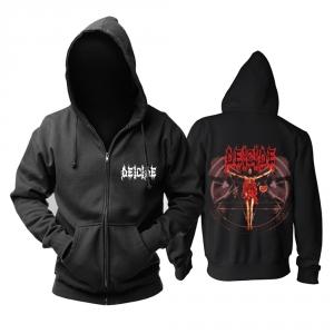 Merch Hoodie Deicide Death Metal Pullover