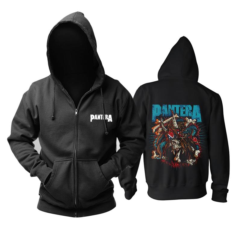 Merchandise Hoodie Pantera Snake In The Skull Pullover