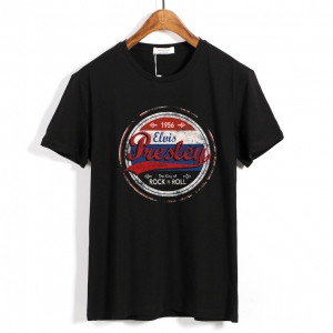 Collectibles T-Shirt Elvis Presley The King Of Rock'N'Roll