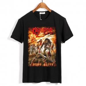 Merchandise T-Shirt Kreator Dying Alive Black