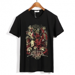 Collectibles T-Shirt Chelsea Grin Torn Flesh Black