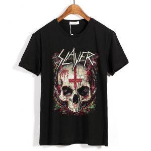 Merch T-Shirt Slayer Ritual Skull