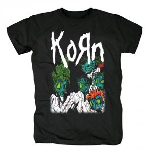 Merch T-Shirt Korn Nu Metal