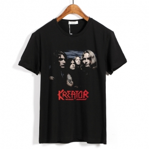 Merchandise T-Shirt Kreator Metal Band Black