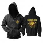 Merch Black Hoodie Machine Head Logo Pullover