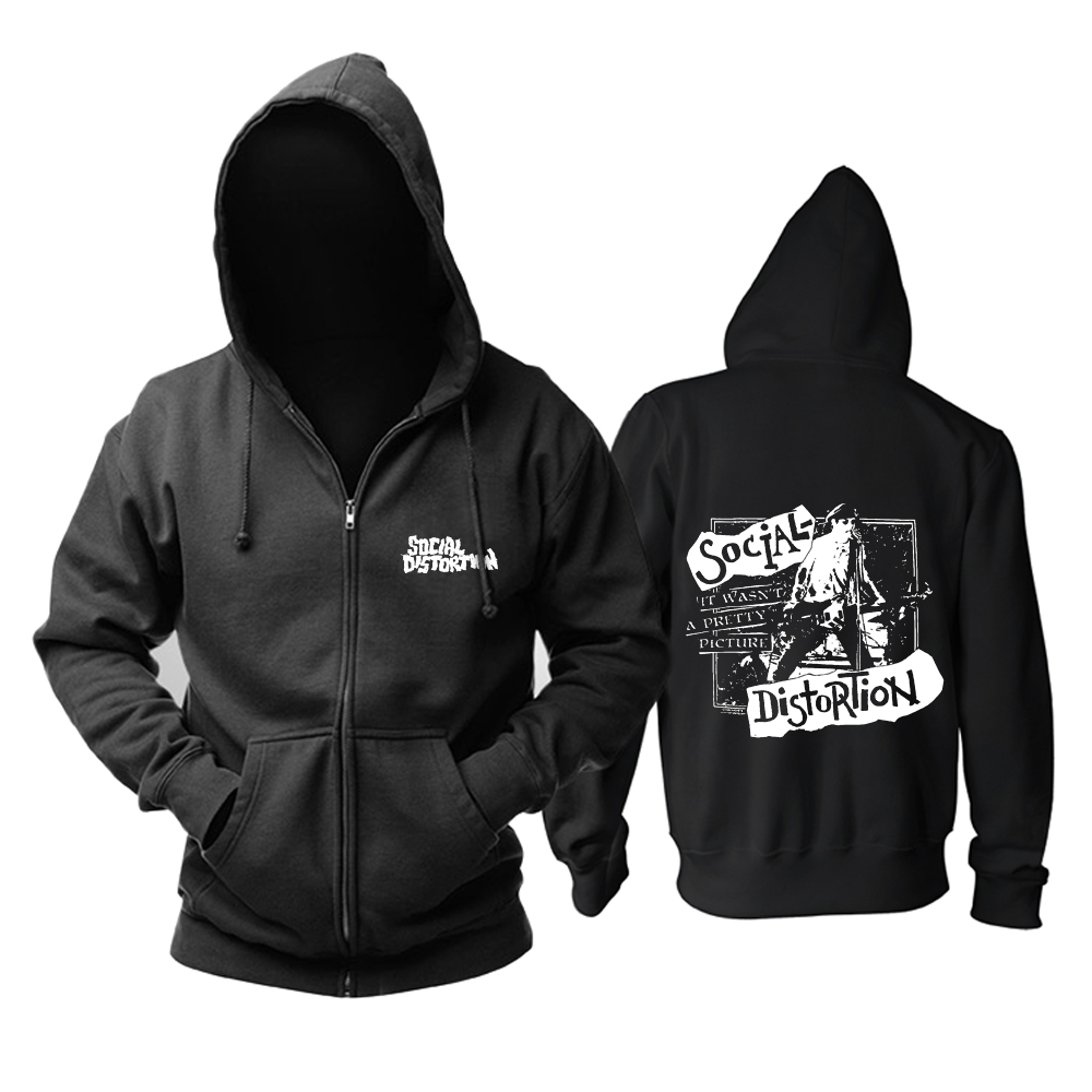 Collectibles Hoodie Social Distortion It Wasnt A Pretty Picture Pullover