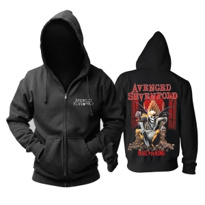 Merchandise Hoodie Avenged Sevenfold Hall To The King Pullover