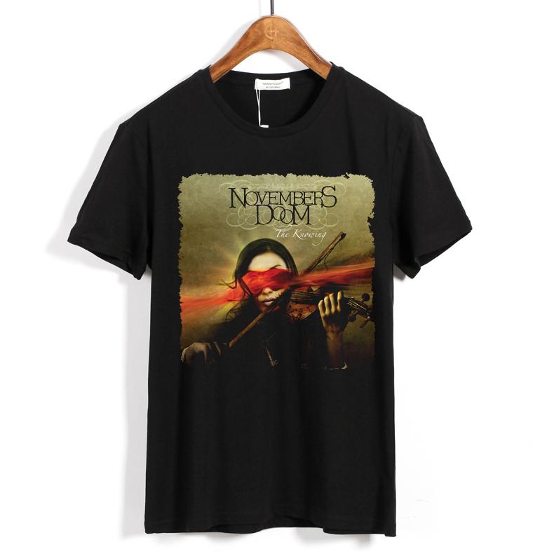 Merch T-Shirt Novembers Doom The Knowing