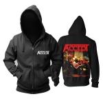 Merch Hoodie Accept Russian Roulette Pullover