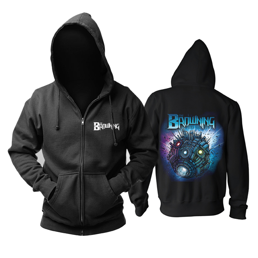 Collectibles Hoodie The Browning Burn This World Pullover