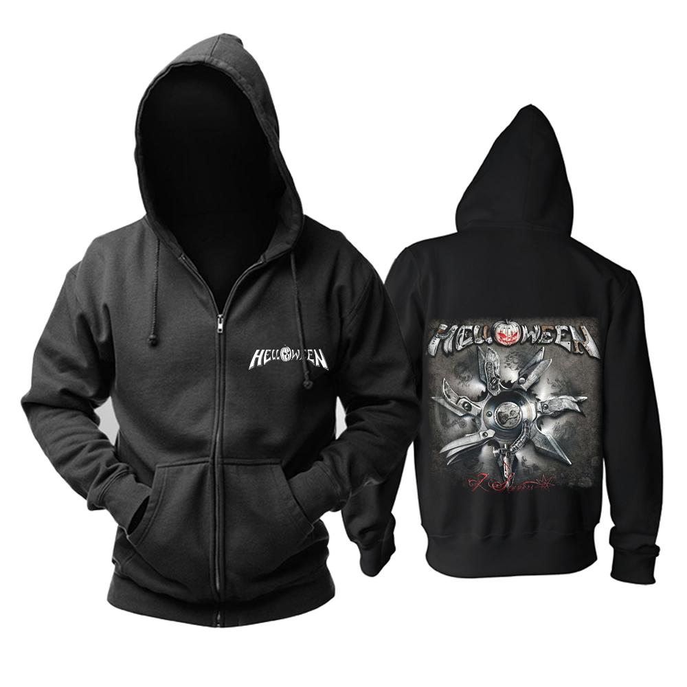 Merchandise Hoodie Helloween 7 Sinners Black Pullover