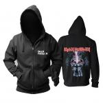 Merch Hoodie Iron Maiden Heavy-Metal Black Pullover
