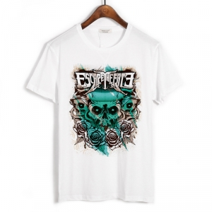 Collectibles T-Shirt Escape The Fate Skull Of Roses