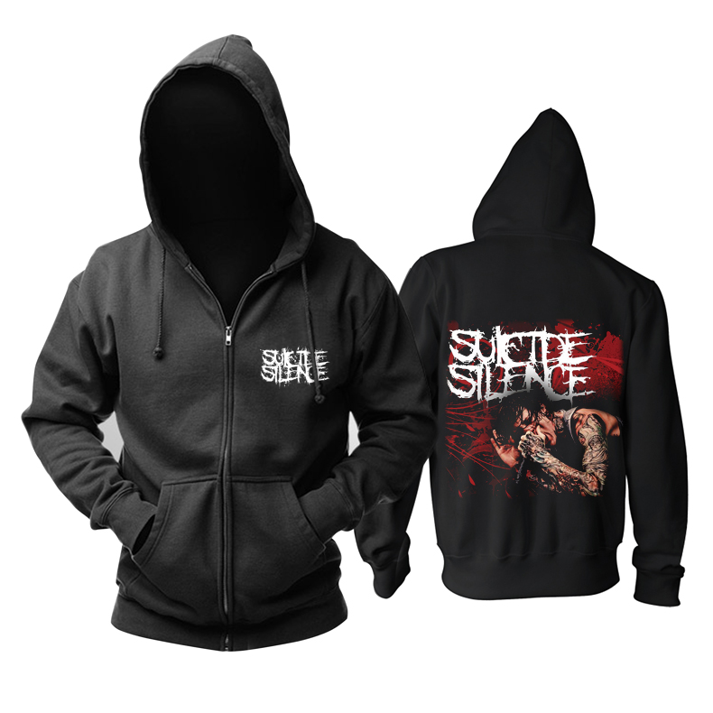 Collectibles Suicide Silence Hoodie Mitch Lucker Pullover