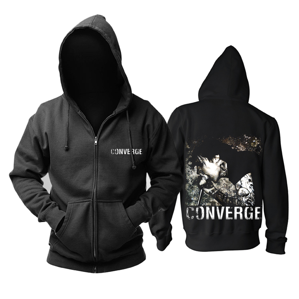 Collectibles Hoodie Converge Jacob Bannon Pullover
