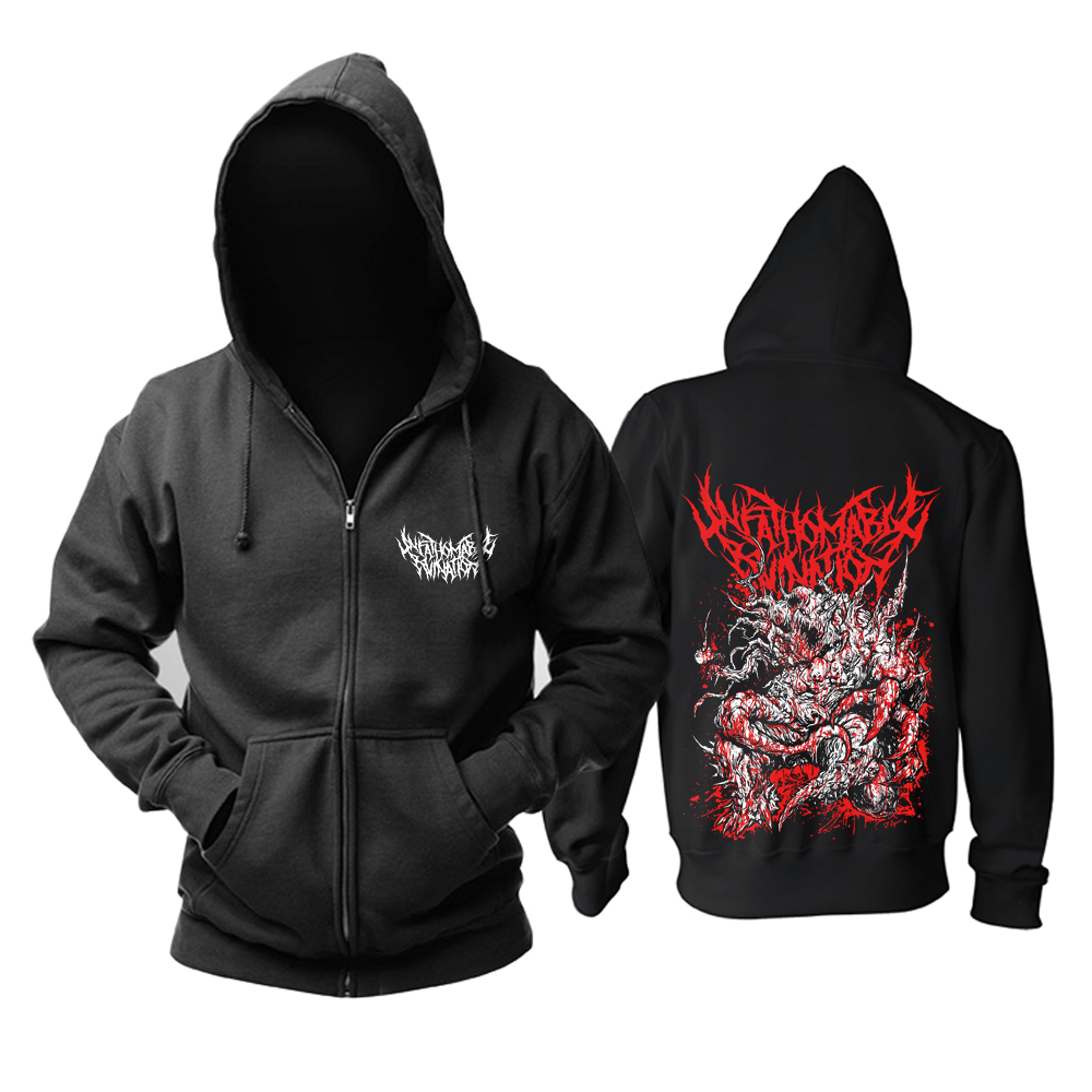 Collectibles Hoodie Unfathomable Ruination Death Metal Pullover