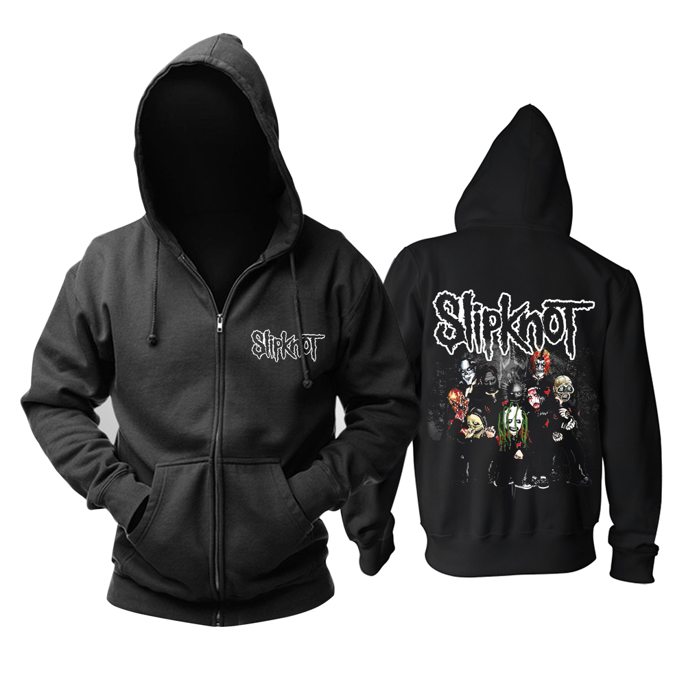 Merch Slipknot Hoodie Nu Metal Band Pullover