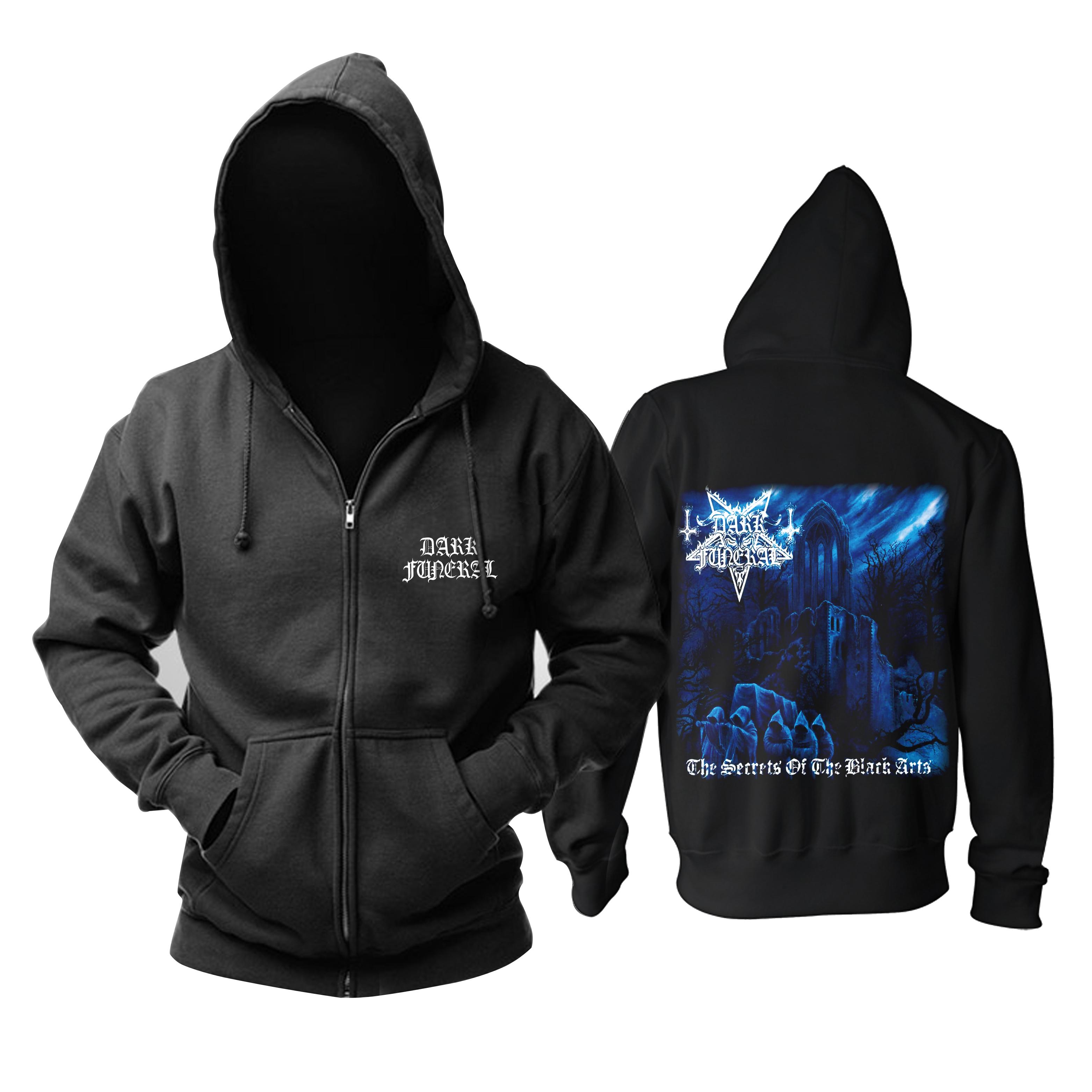 Merchandise Hoodie Dark Funeral The Secrets Of The Black Arts Pullover