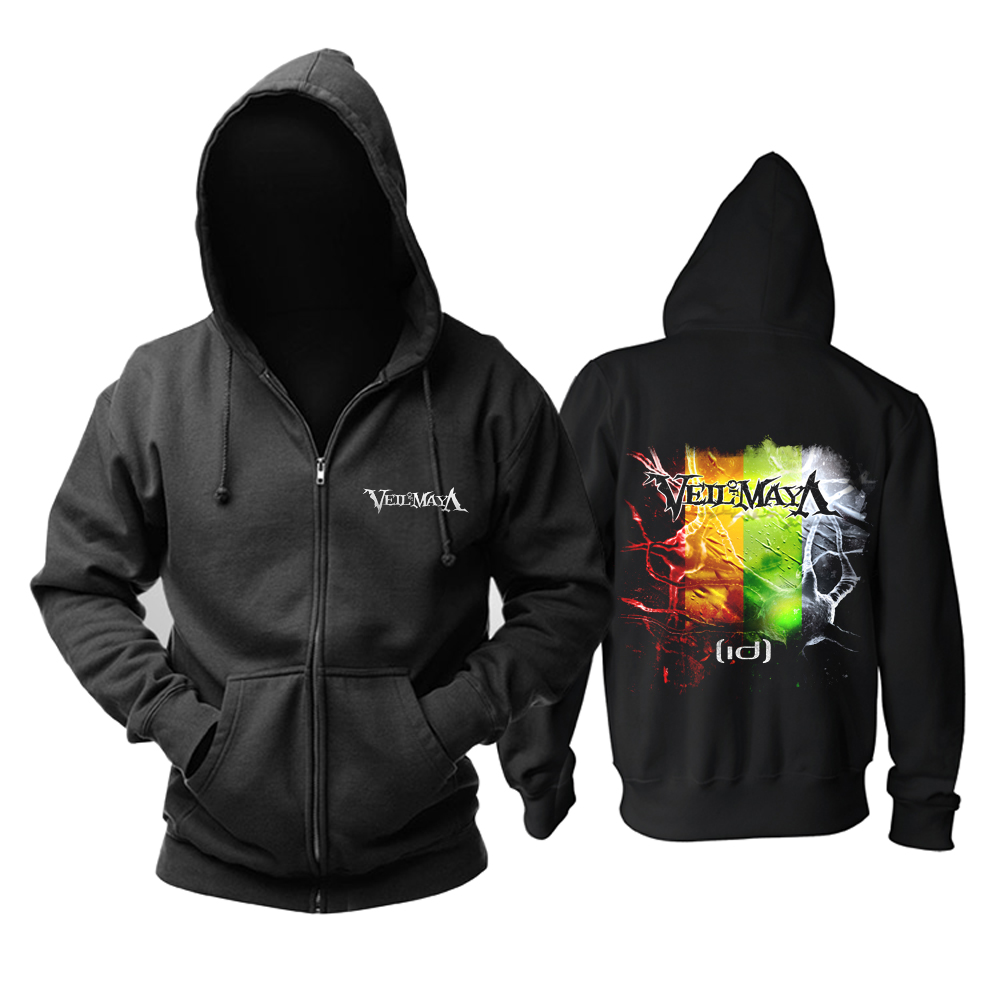 Collectibles Hoodie Veil Of Maya Id Album Cover Pullover
