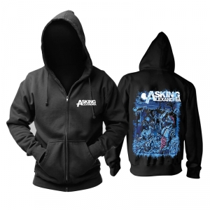 Merch Hoodie Asking Alexandria Night Of The Dead Pullover