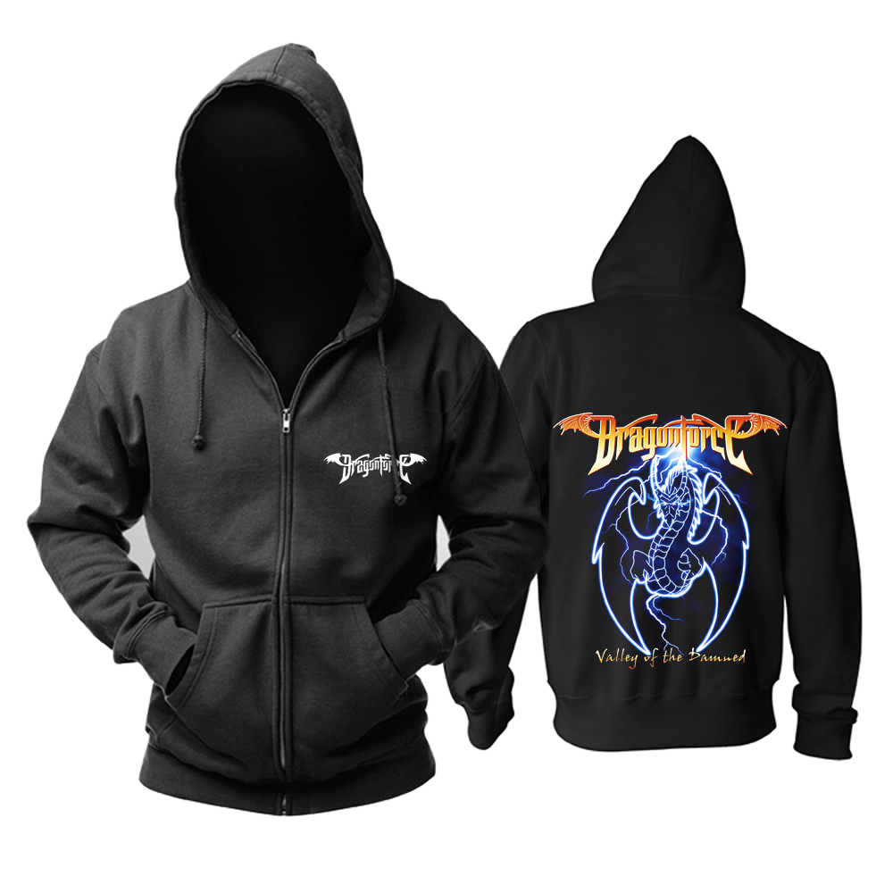 Merchandise Hoodie Dragonforce Valley Of The Damned Pullover