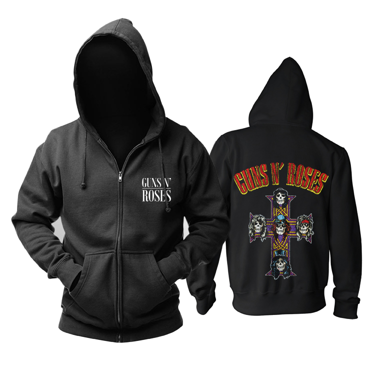 Merch Hoodie Guns N' Roses Appetite For Destruction Pullover