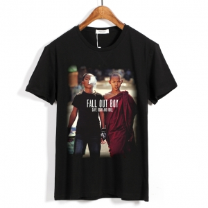 Merch T-Shirt Fall Out Boy Save Rock And Roll
