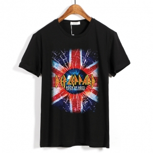 Merch T-Shirt Def Leppard Rock Of Ages