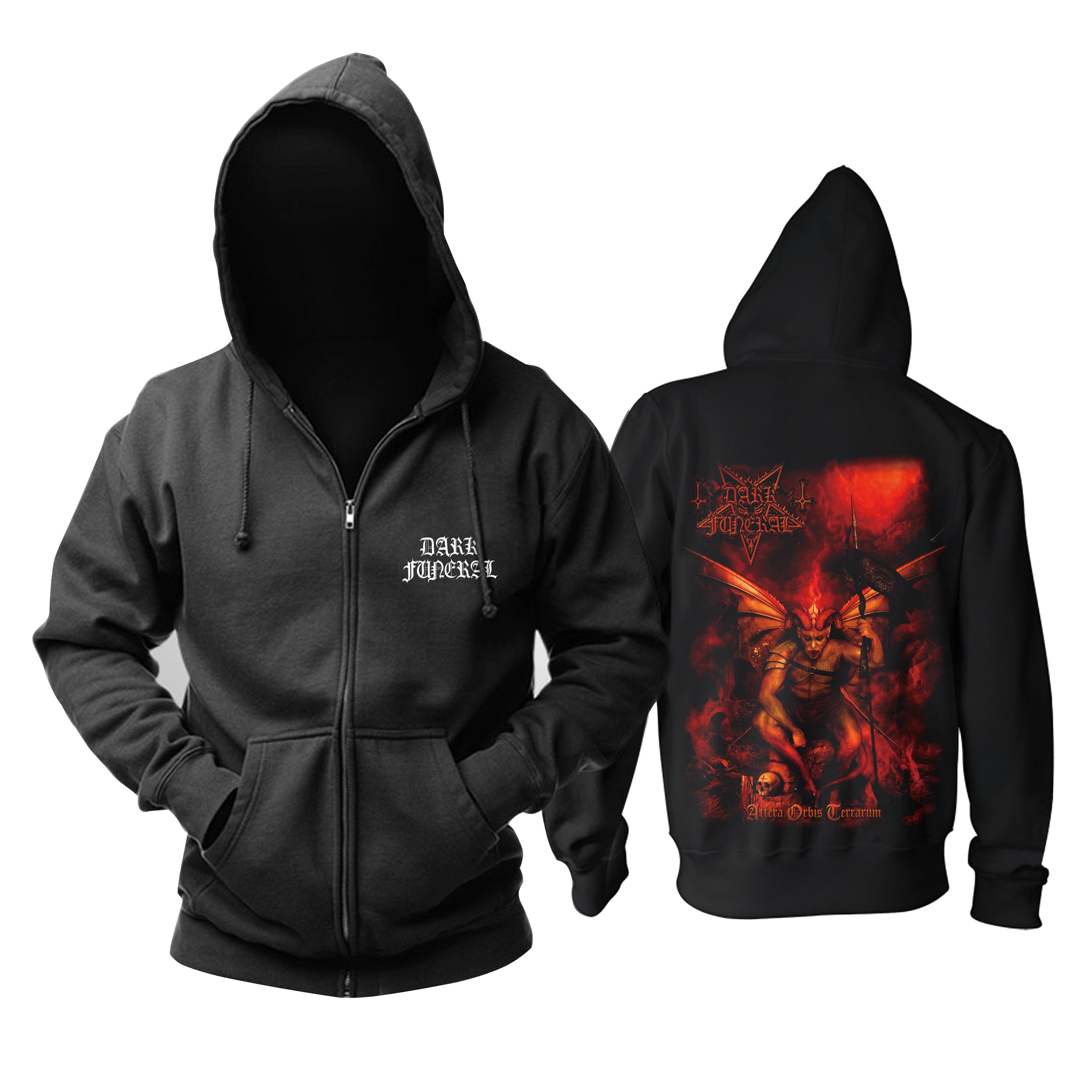 Merch Hoodie Dark Funeral Attera Orbis Terrarum Pullover