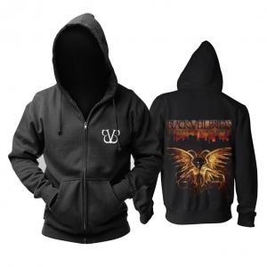 Collectibles Hoodie Black Veil Brides Wretched And Divine Pullover