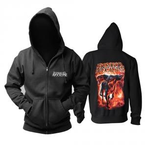 Merchandise Hoodie Fleshgod Apocalypse Metal Music Pullover
