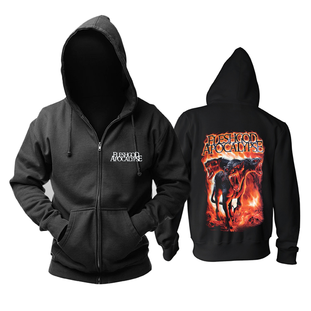 Collectibles Hoodie Fleshgod Apocalypse Metal Music Pullover