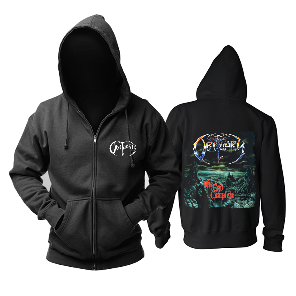 Merch Hoodie Obituary The End Complete Pullover