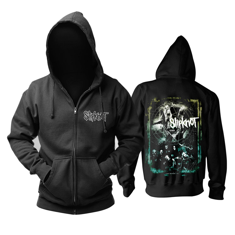 Collectibles Hoodie Slipknot Iowa Metal Band Pullover